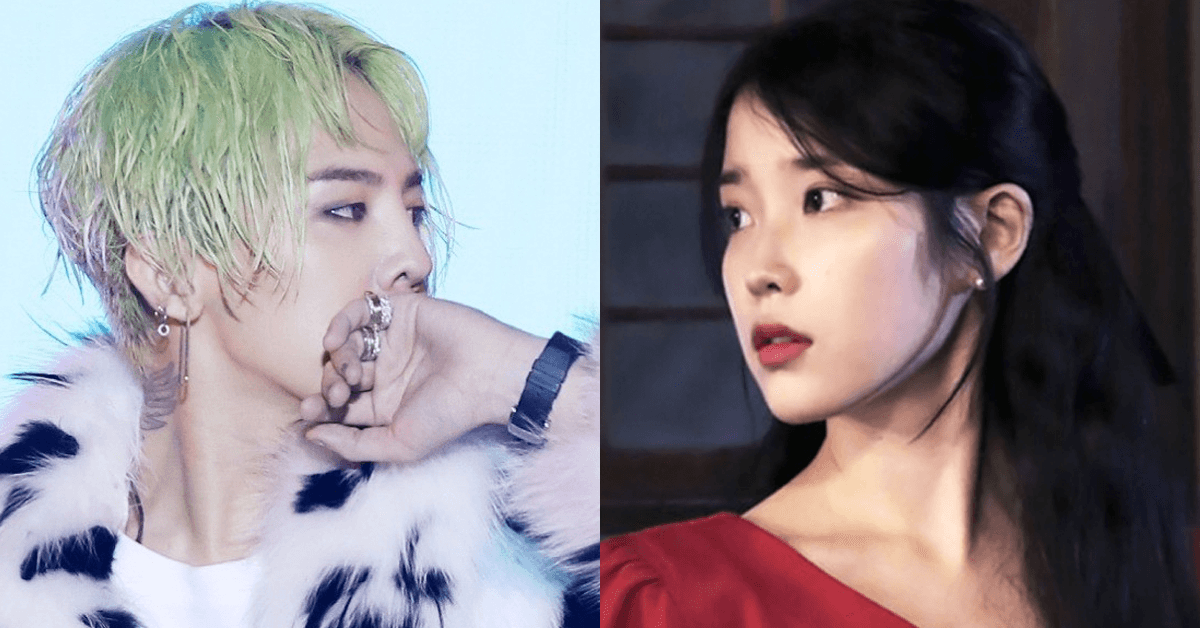G-Dragon is the feature artist on IUs upcoming title track