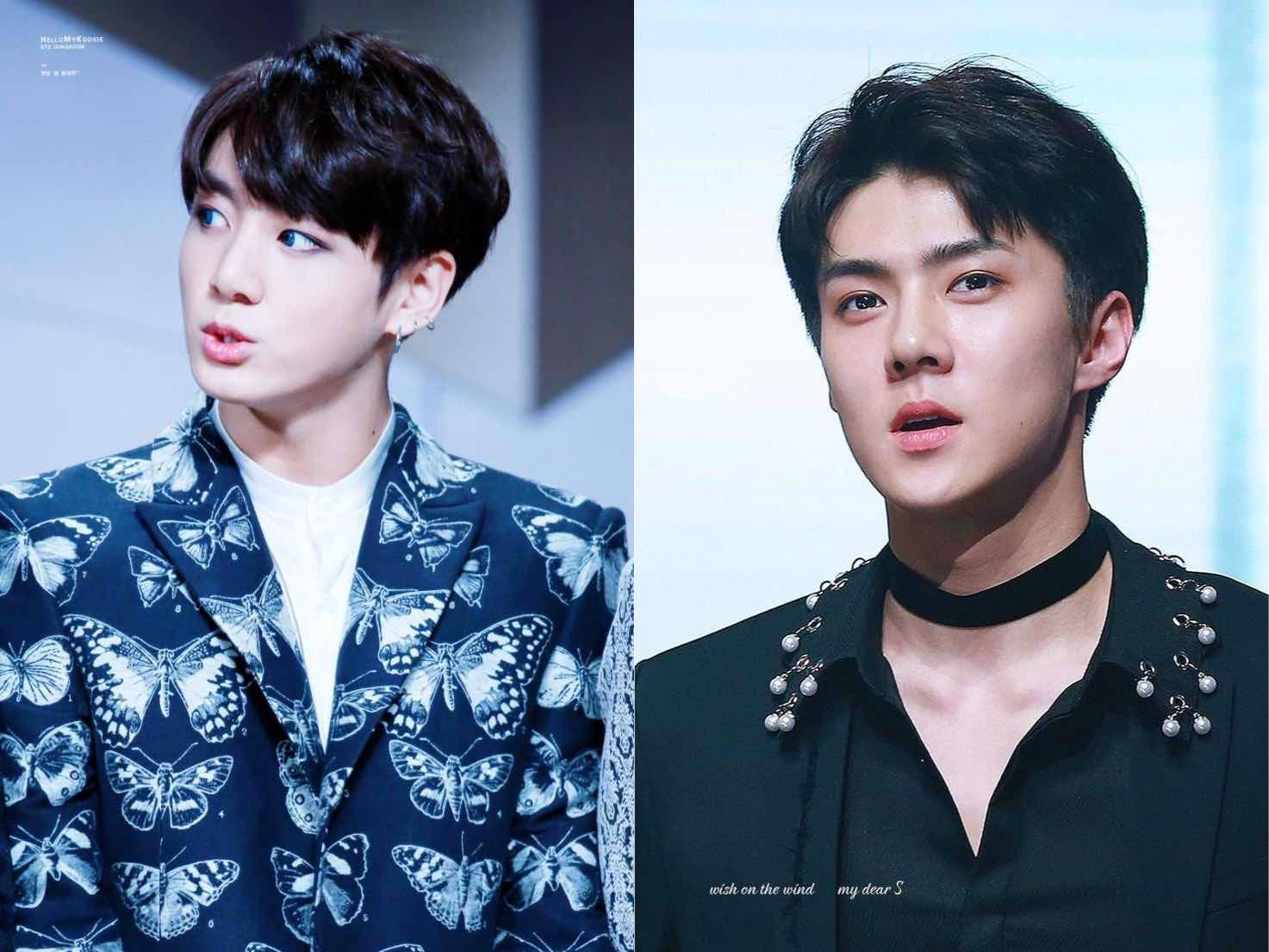 EXO and BTS Maknae Have Both Grown Up Into Sexy Men