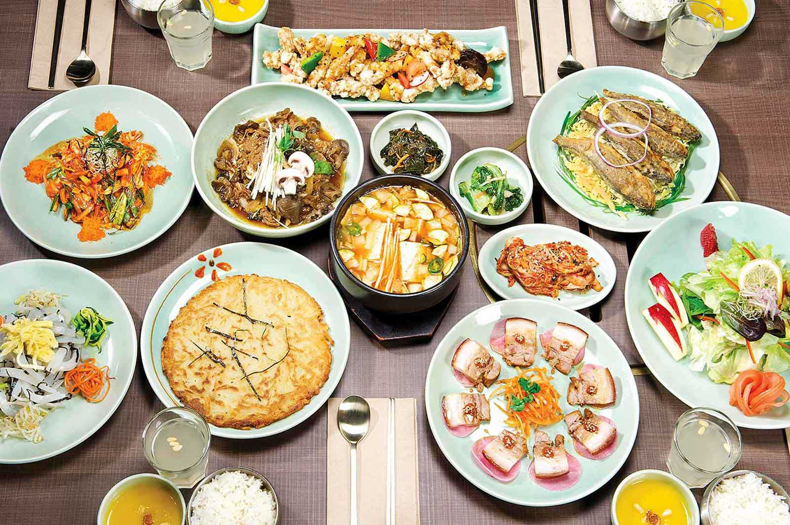 korean lunch menu vancouver sura english course names dish cuisine koreans dishes translated special dining discuss romanized directly whether better