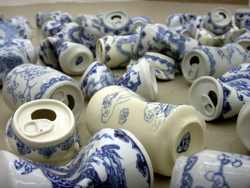 Smashed Soda Cans Are Actually Beautiful Art Pieces Made From Porcelai -  Kpoptify