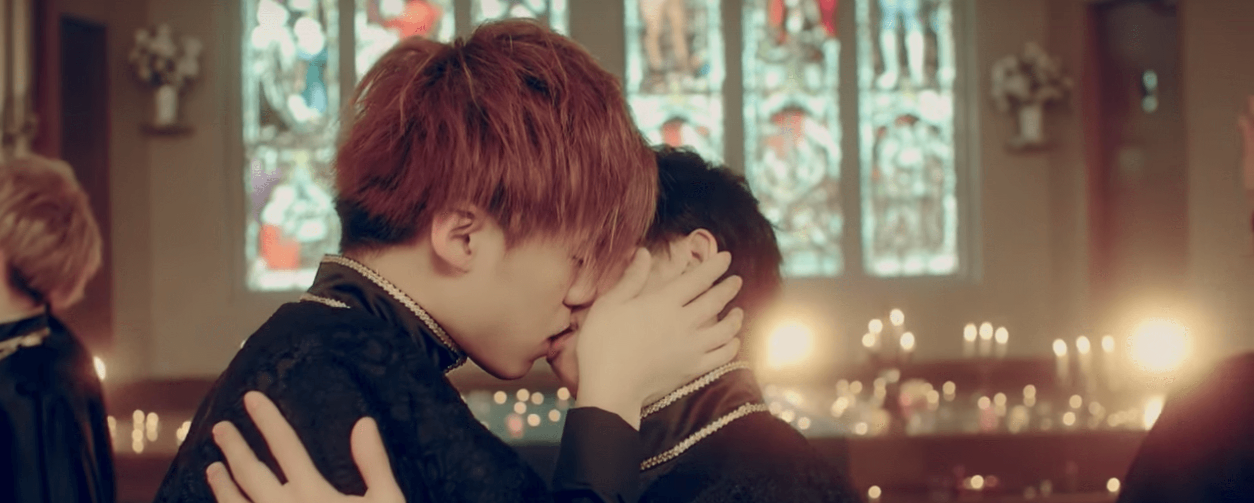 Members of This Japanese Boy Group Kiss Each Other Straight For 4 Minutes In MV