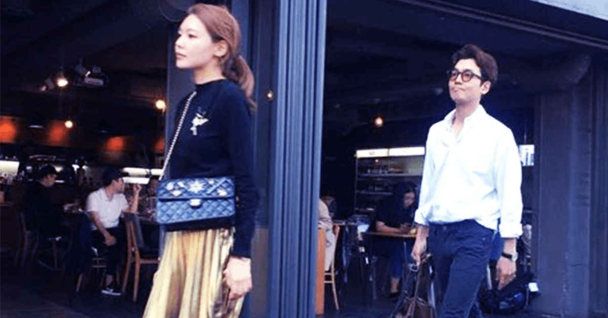 Sooyoung spotted on a date with her boyfriend Jung Kyung Ho