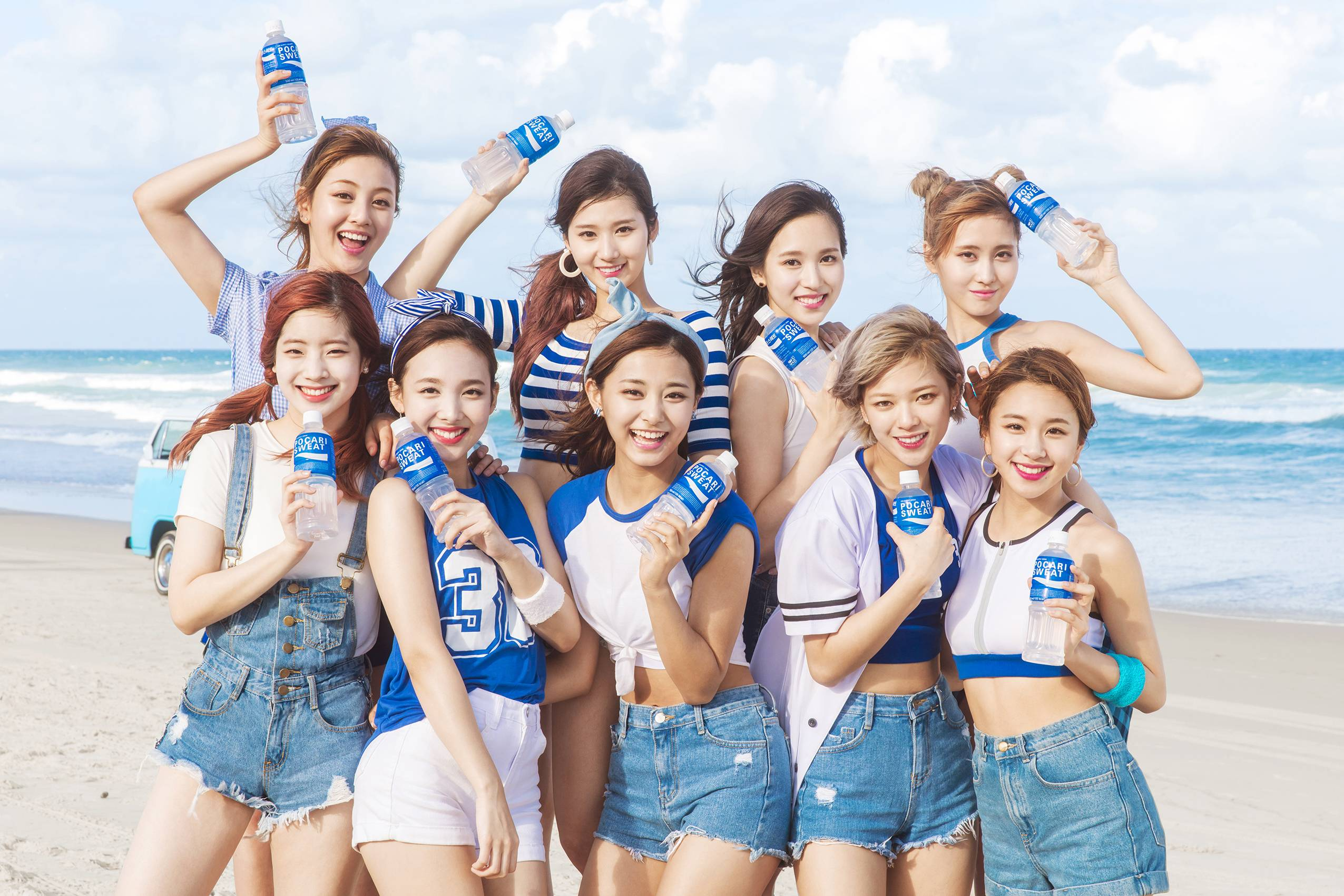 with twice as brand models pocari sweat has achieved something it
