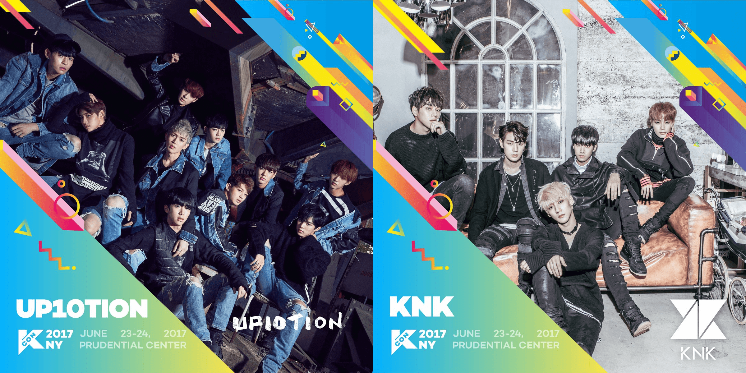 UP10TION and KNK announced for KCON New York 2017