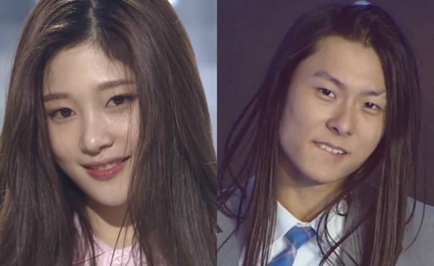 Heres how Chaeyeon reacted after being told she looks like Jang Moon Bok