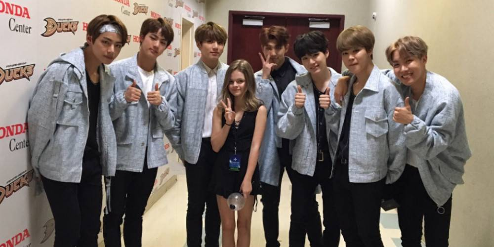 Actress Kylie Rogers said she would love to act with this BTS member