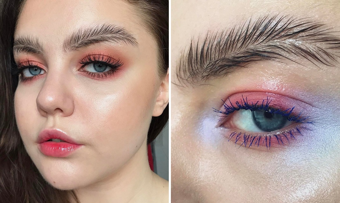 Feather Eyebrows Are Becoming The New International Trend