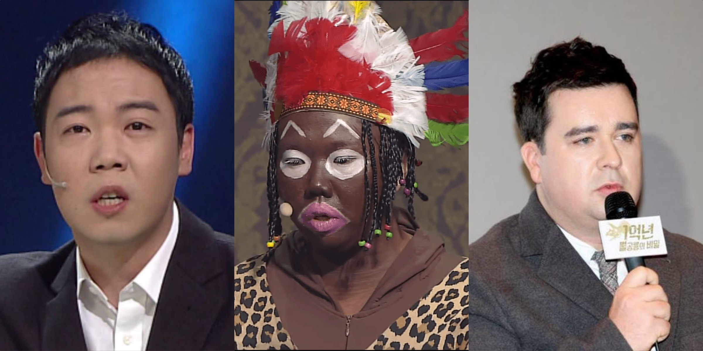 "Comedian Hwang Hyun Hee blasts Sam Hammington for calling SBSs blackface skit ""pathetic"""