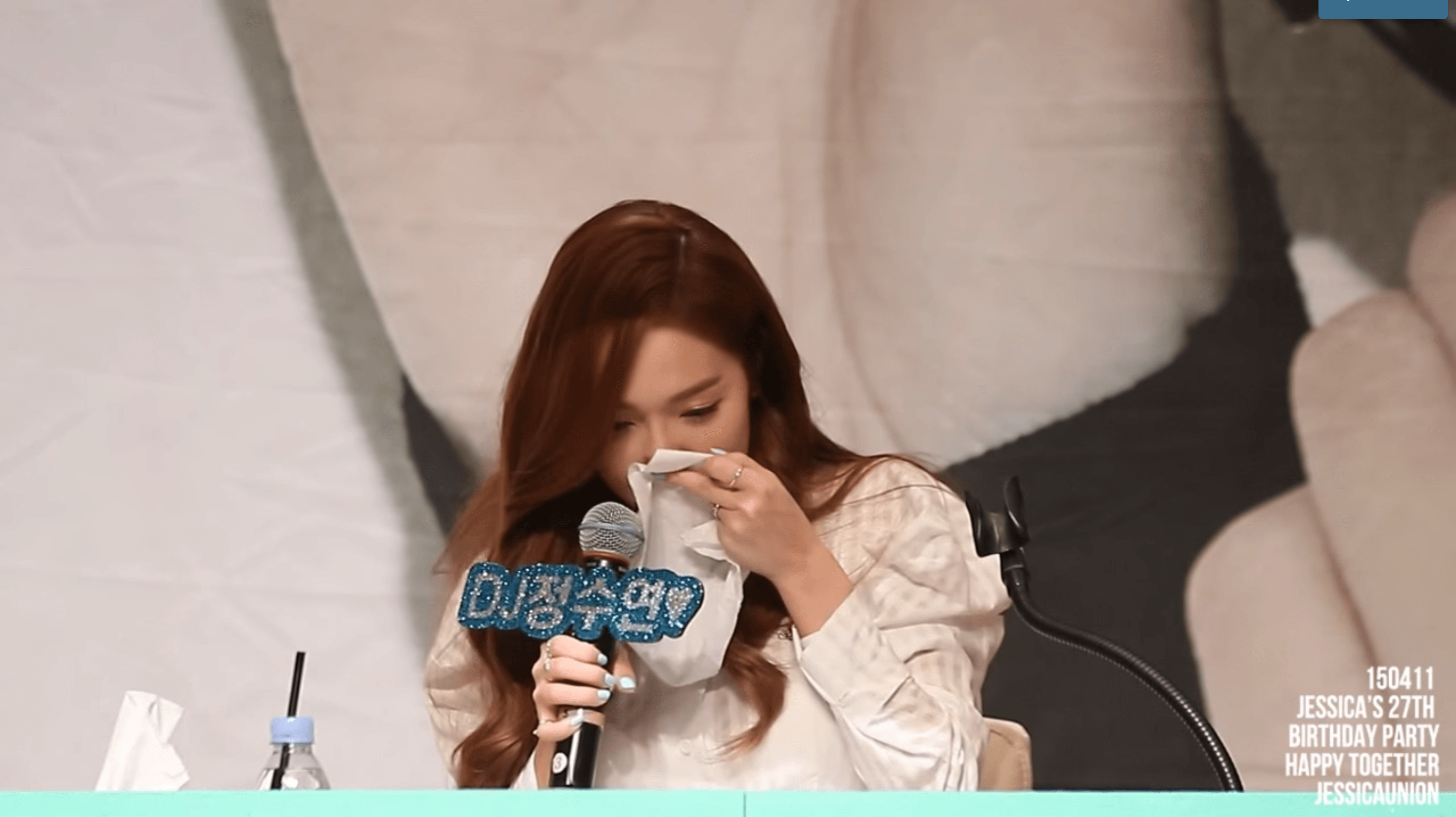 Jessica Burst Into Tears When She Read This Message from Krystal