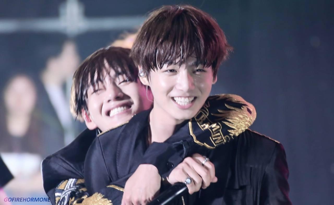 Exo hug gif