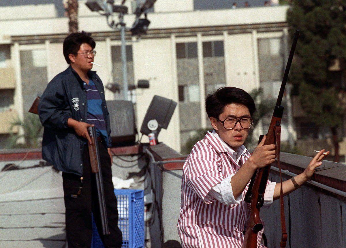 These 2 Korean men defended themselves against armed looters during the LA Riots
