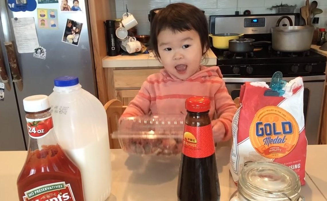 Meet Mazzy, The 2-Year-Old Chef Who Is Teaching YouTube How To Cook