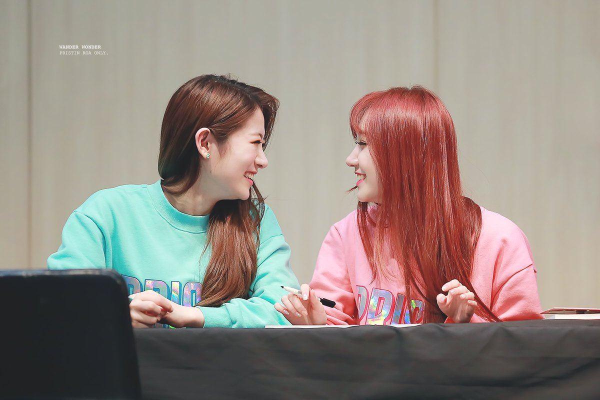 PRISTIN Sungyeon Tried To Propose To Roa, Rena Stopped Her