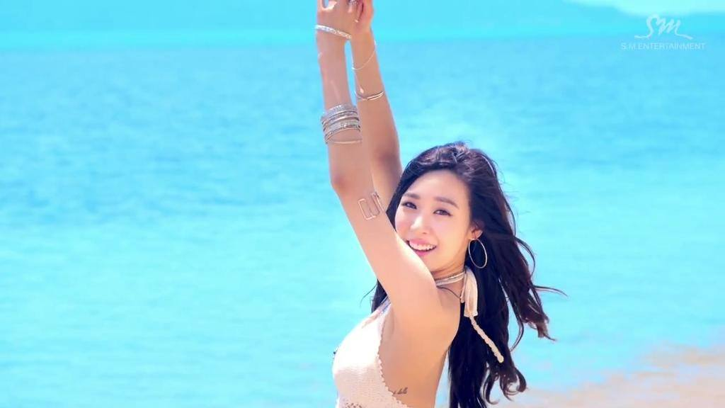 Girls' Generation Tiffany Has These Hard To Spot Tattoos