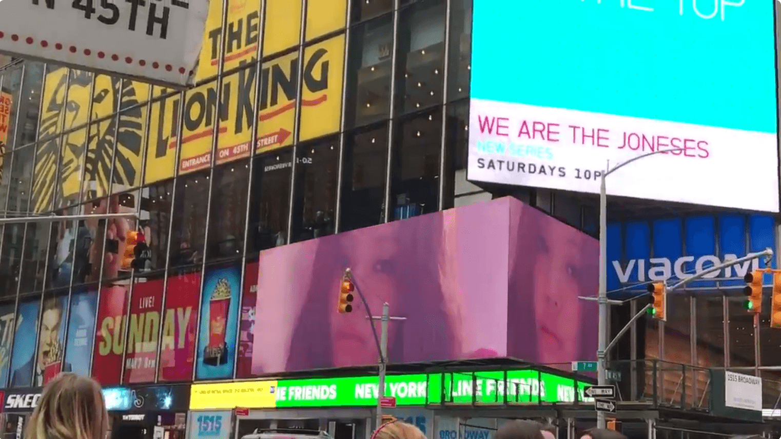 BLACKPINK and WINNER MVs Spotted Playing In Times Square