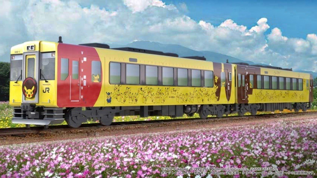 This Pikachu-themed Train In Japan Is Not Only Awesome It Raises Money For Earthquake Victims
