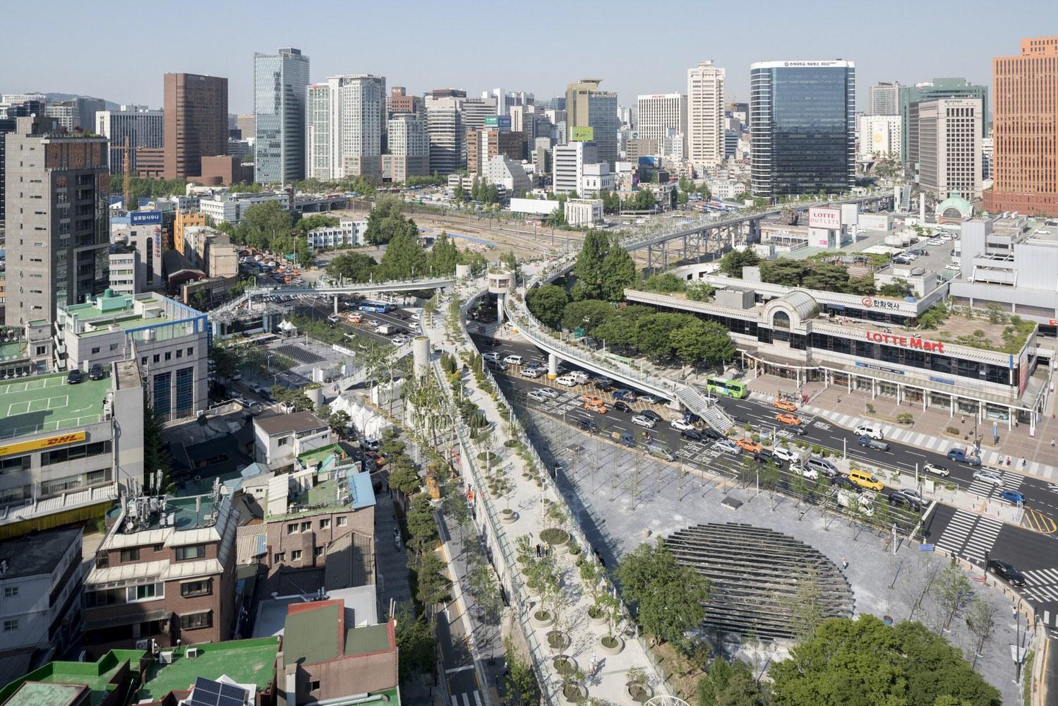Seoul Sky Park Aerial View