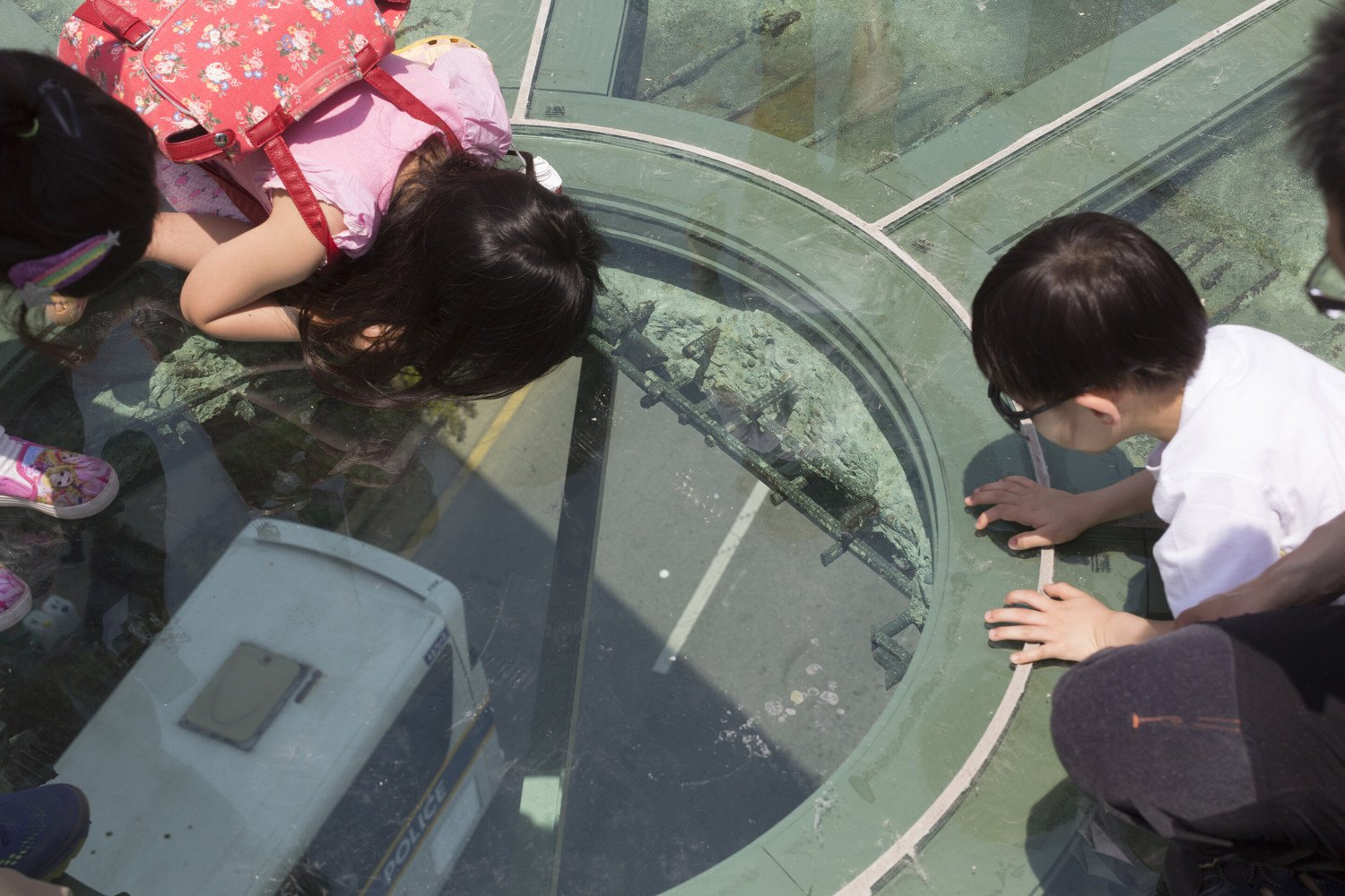 Seoul Sky Park Glass Floor Viewing Spot