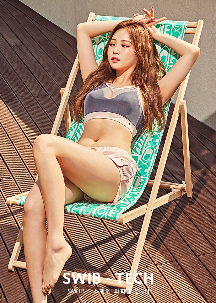 Girl S Day Yura Takes It Off And Reveals Her Bikini Body