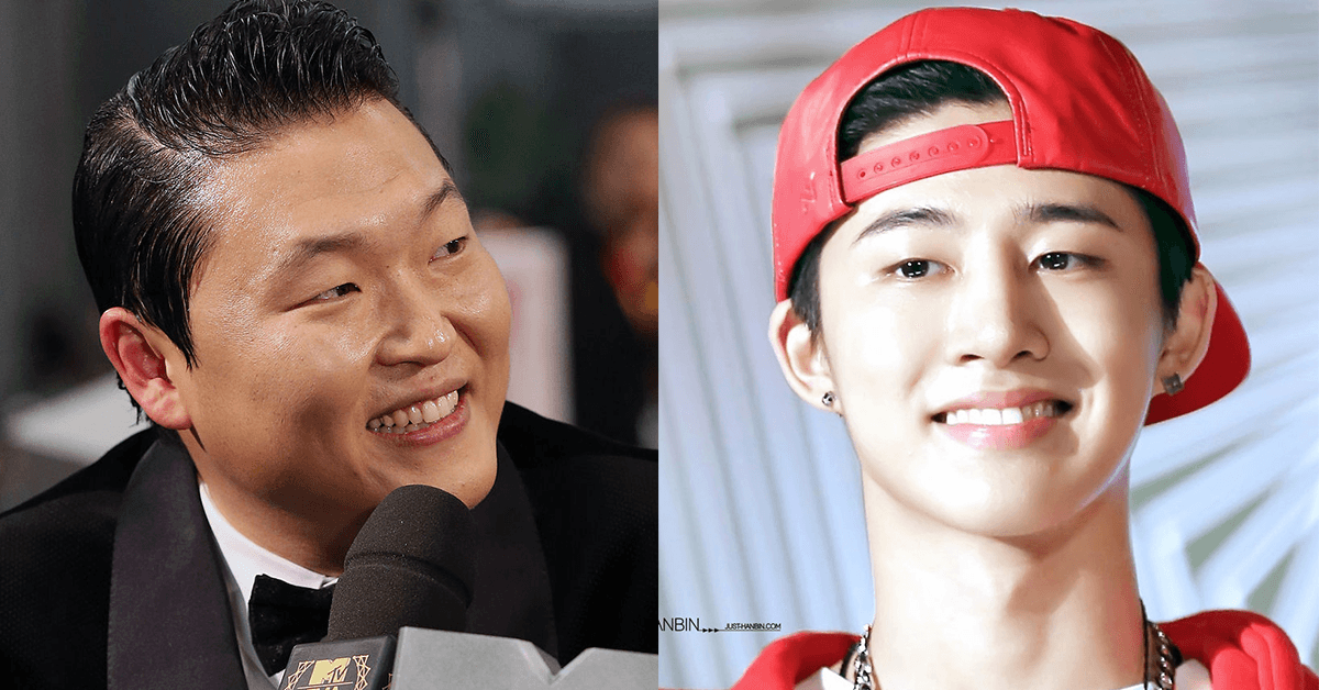 iKON B.I's question for PSY shows how big their age difference is