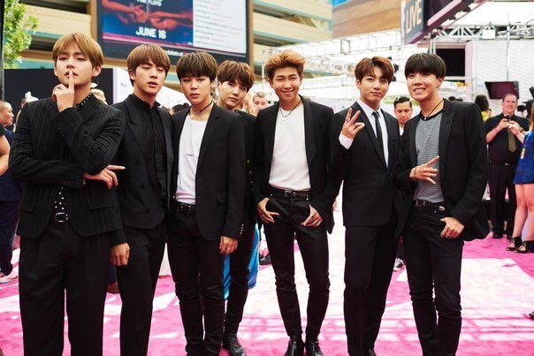 Heres What BTS Wore To The Billboard Music Awards Magenta Carpet