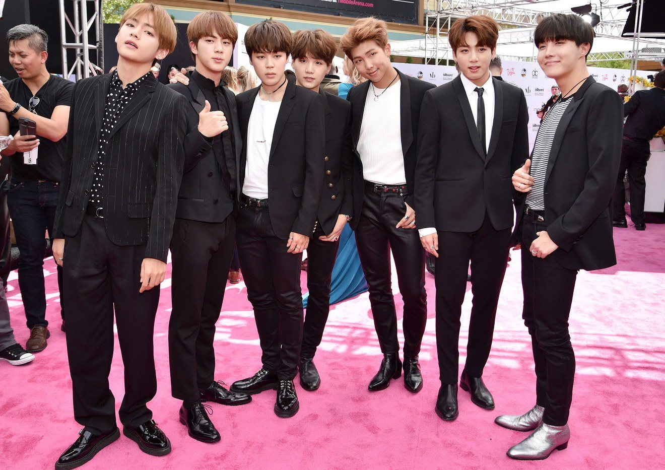 Vogue Names Bts Quot Best Dressed Quot At The Billboard Music