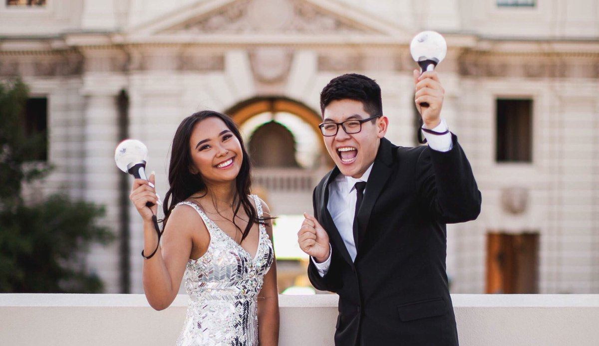 Here's what this prom couple did to prove their love…to BTS