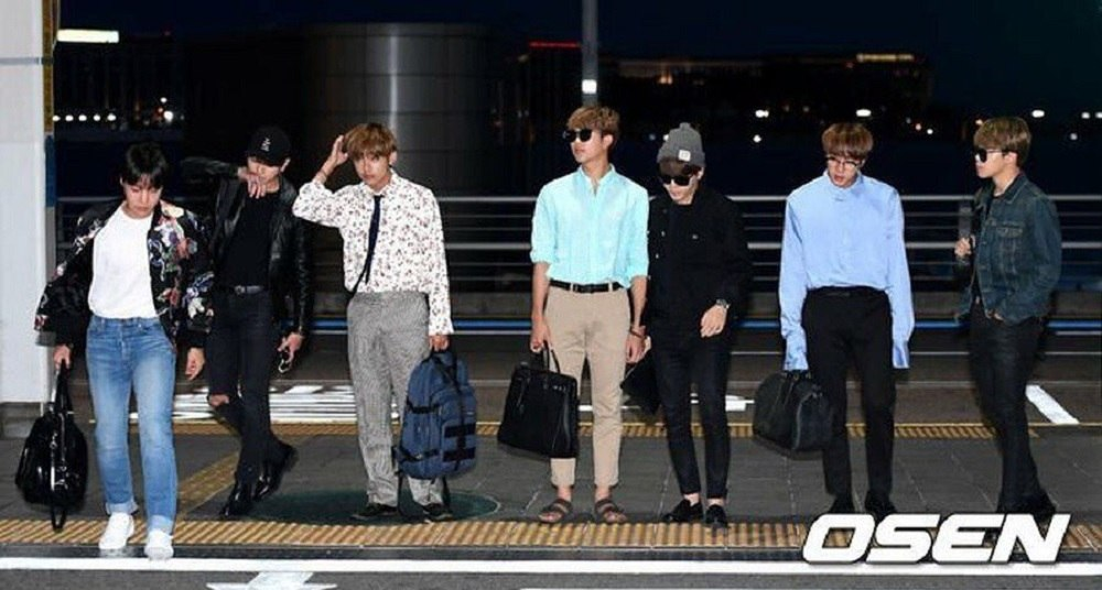 Heres What BTS Wore To The Airport On Their Way To The Billboard Music Awards