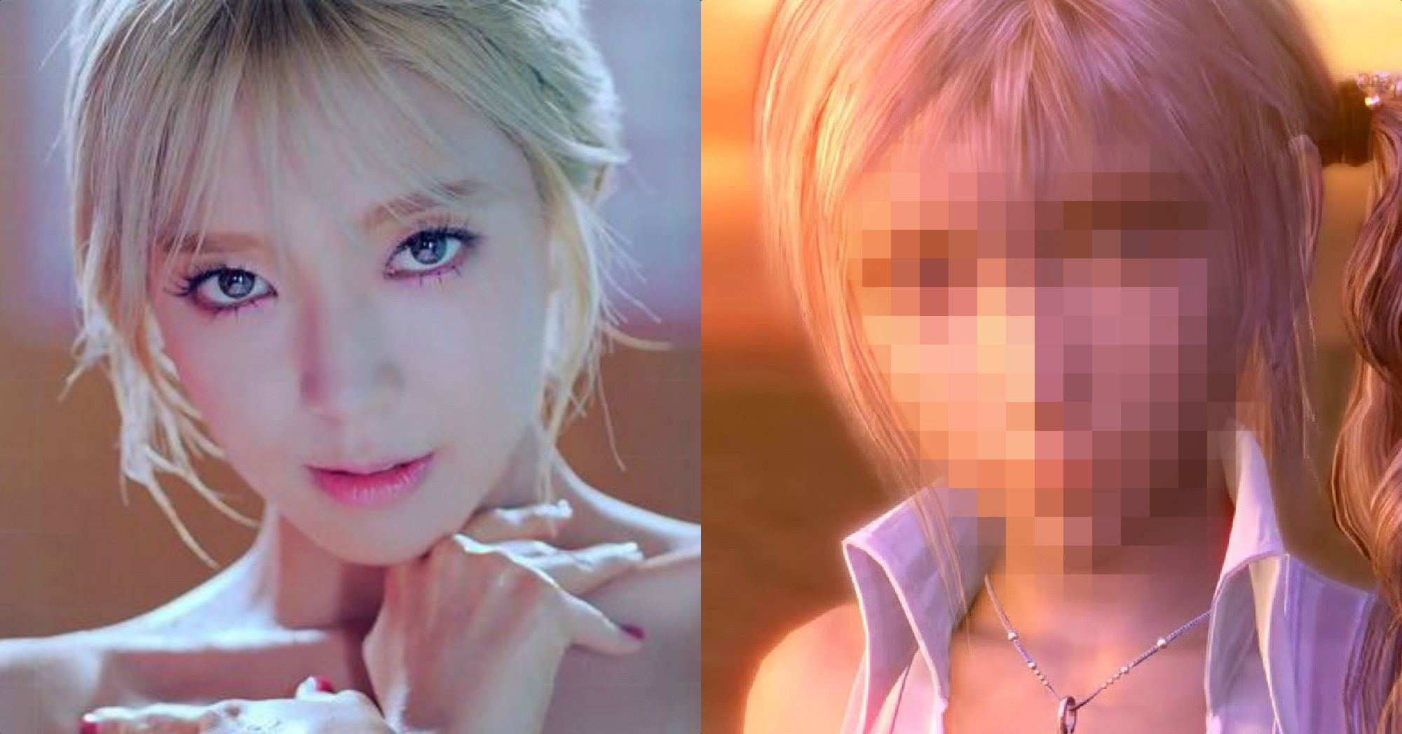 This Final Fantasy Character Looks Like She Was Modelled After AOAs Choa