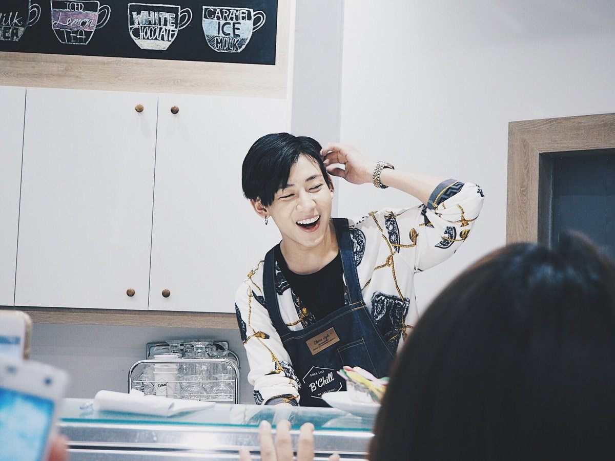 GOT7s BamBam Is Serving Looks As Well As Customers At His New Cafe