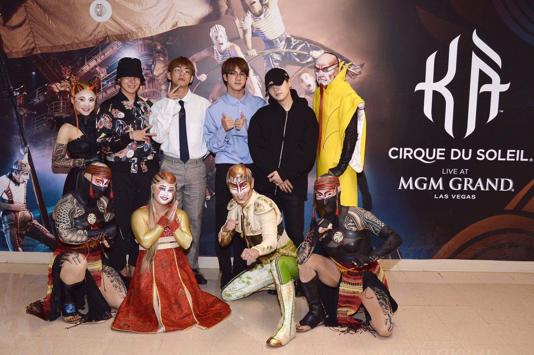 Cirque du Soleil KÁ Have Joined ARMYs In Their Support of BTS at the BBMAs