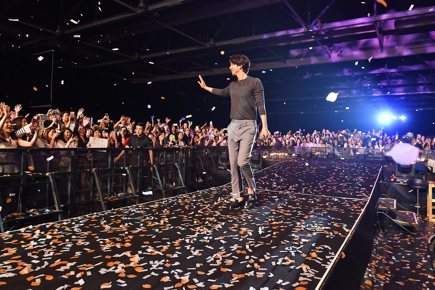 Gong Yoo Held His First Fan Meeting in Hong Kong