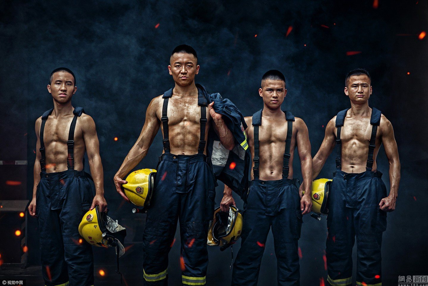 These Hunky Firefighters Will Make You Want To Burn Your House Down