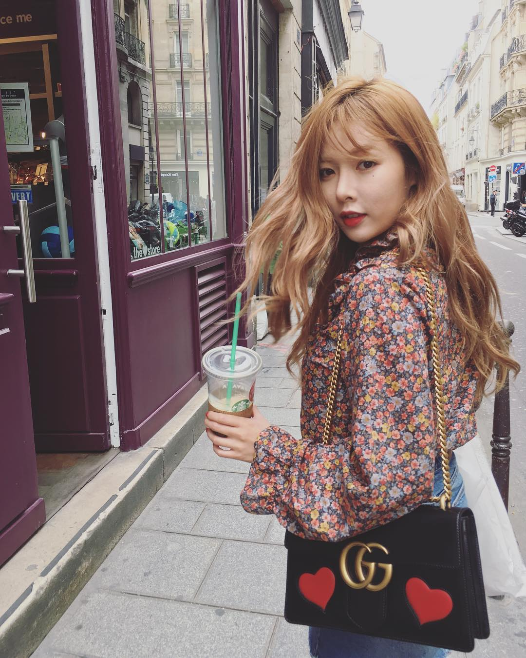 Hyunas culture shock after a French man winked at her