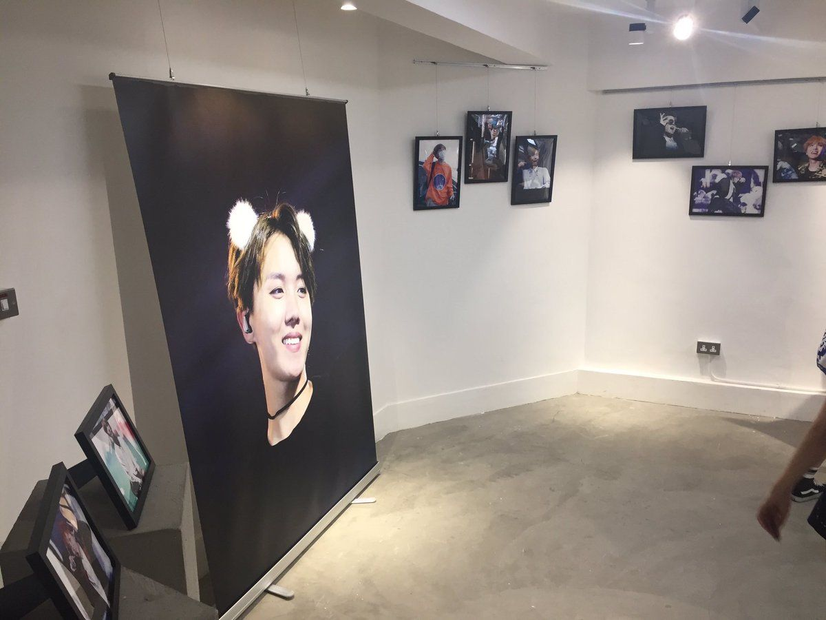 There Is Now A Real Life Bts Portrait Exhibit And It S