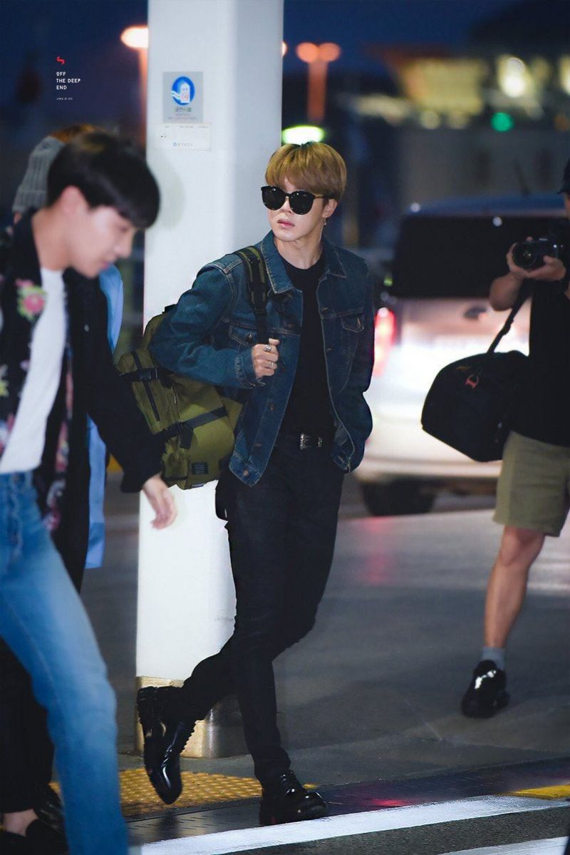 Here S What Bts Wore To The Airport On Their Way To The