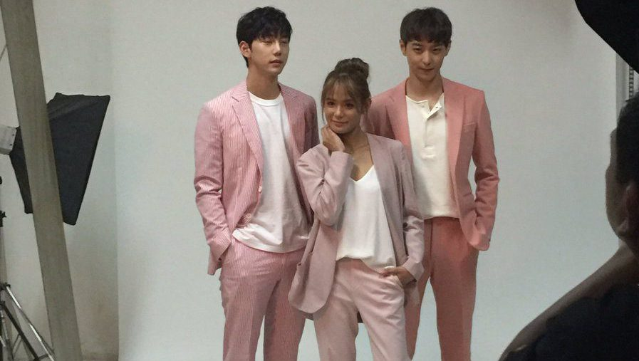 Cast of Korean-Filipino Movie You With Me Hold Their Fanmeet in Manila