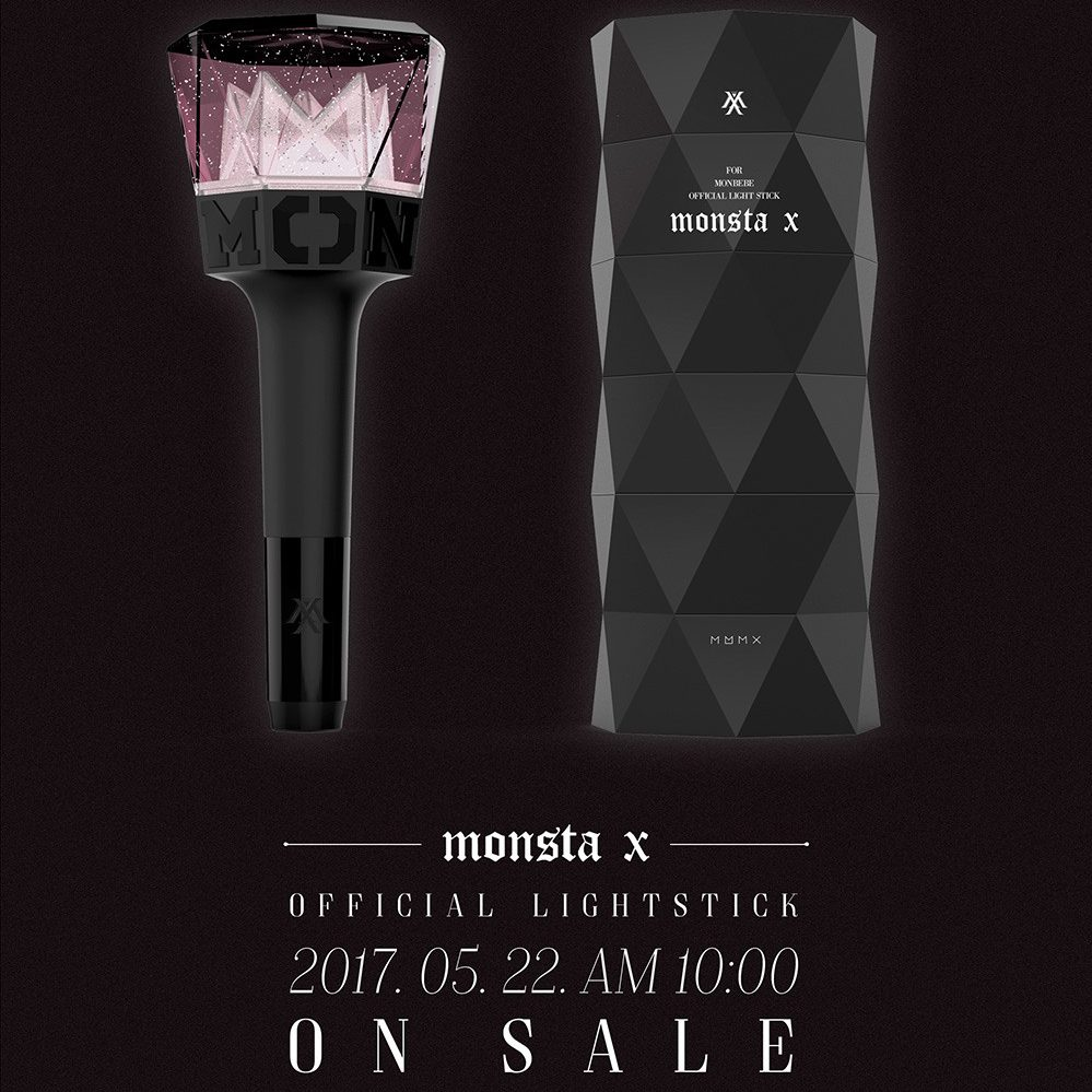 MONSTA X Release Official The Clan Themed Lightstick