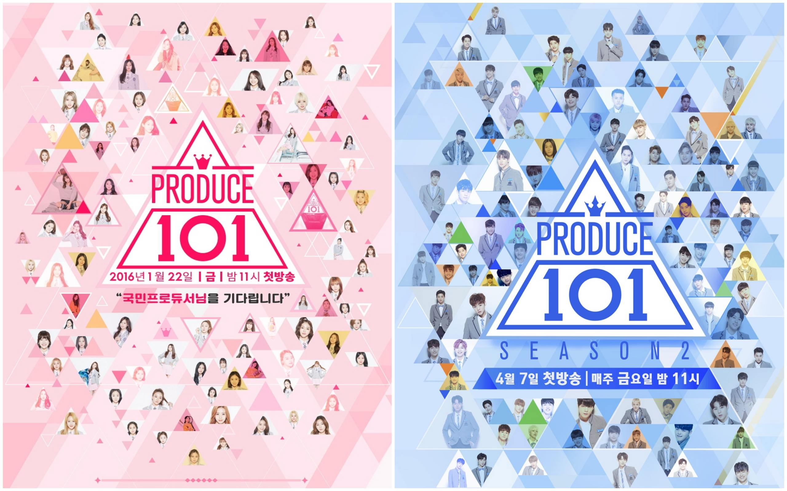 I.O.I Members and Their Produce 101 Season 2 Counterparts