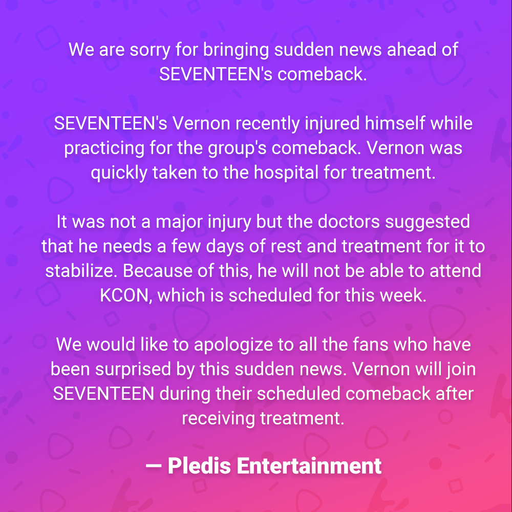 Here's Pledis Entertainment's Full Statement Regarding The Unfortunate  Incident, How To Apologize To Ur Best