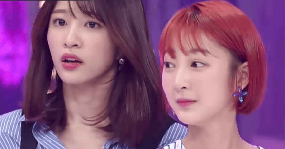 EXID's jaws dropped when this girl tried to sing their song