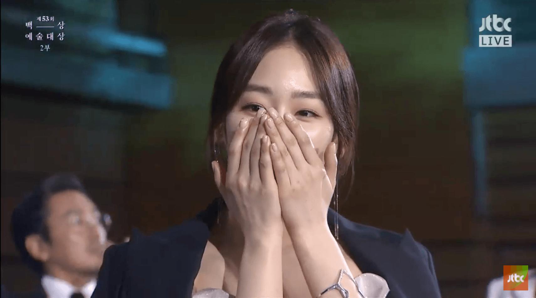 Seo Hyun Jin Wins Best Drama Actress At 2017 Baeksang Art Awards
