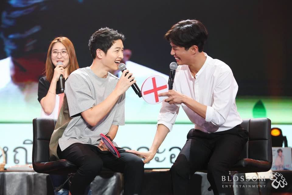 Song Joong Ki And Park Bo Gum Wore Couple T-Shirts On Accident