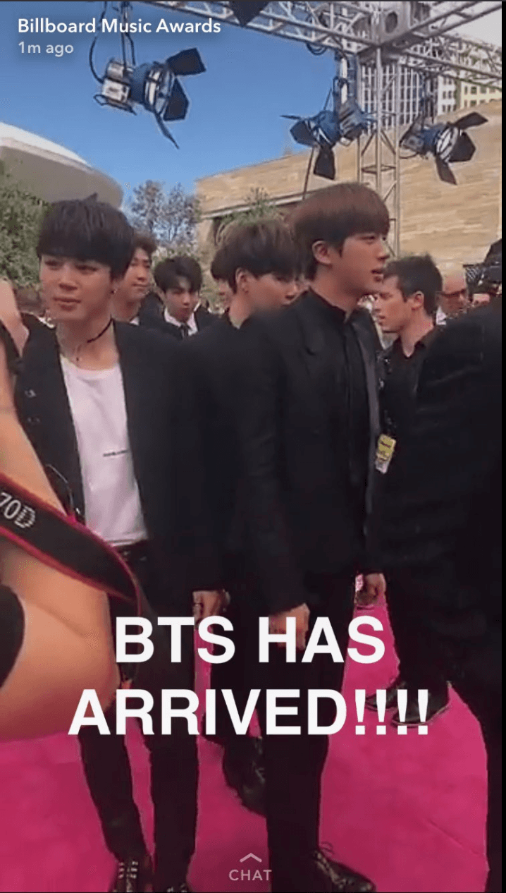 all the photos of bts walking the magenta red carpet for