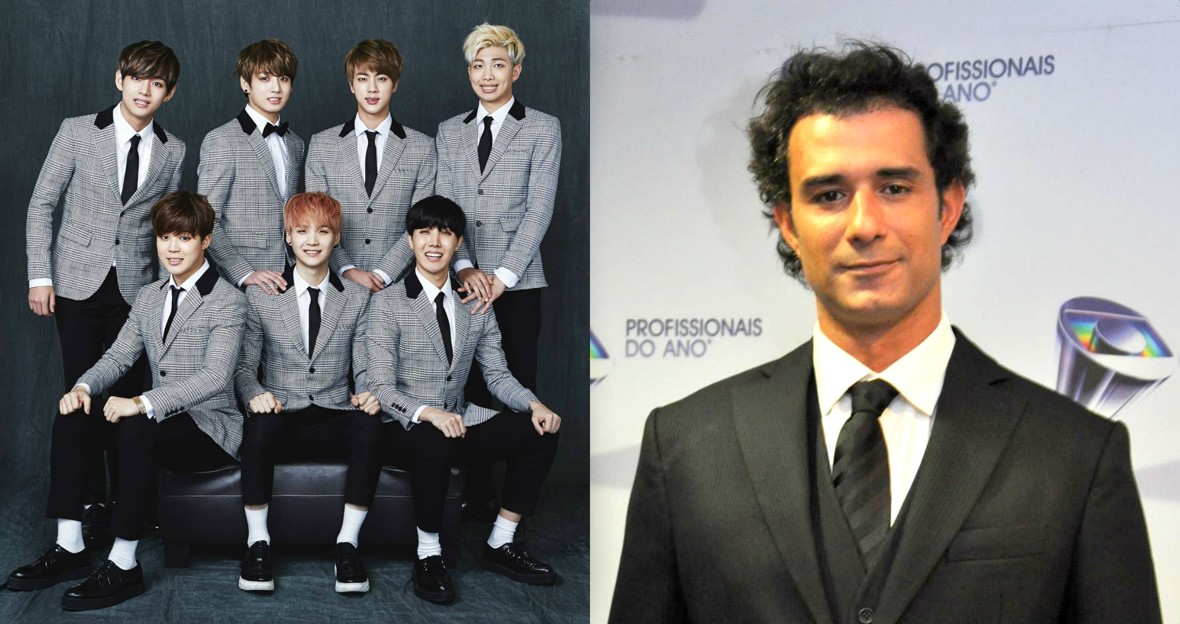 Brazilian actor Marcos Pasquim votes for BTS in BBMAs