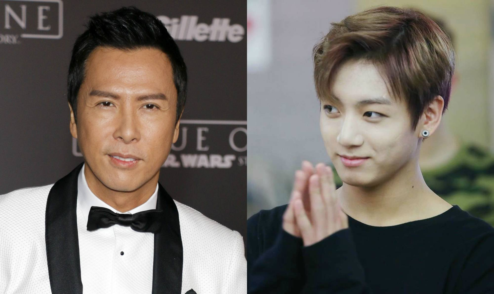 Donnie Yen Took 100 Photos To Get His Daughter A Backstage Photo With BTS