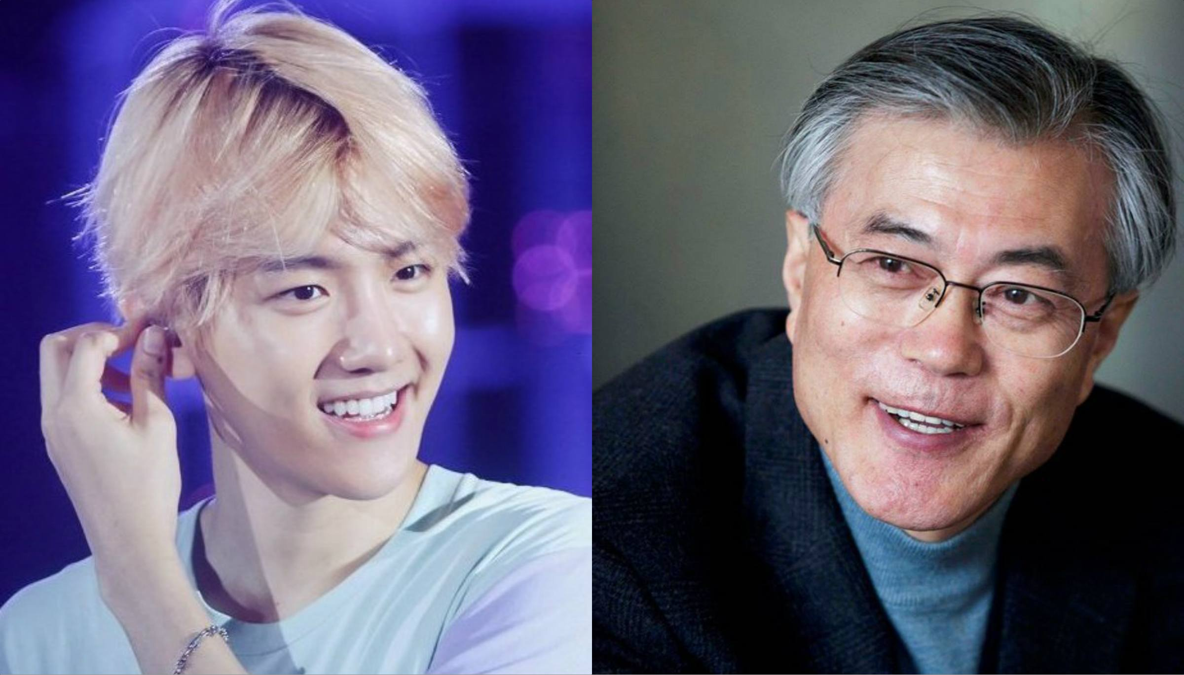 Korean Presidential Candidate Shows His Love For This EXO Member After Visiting SM Artium