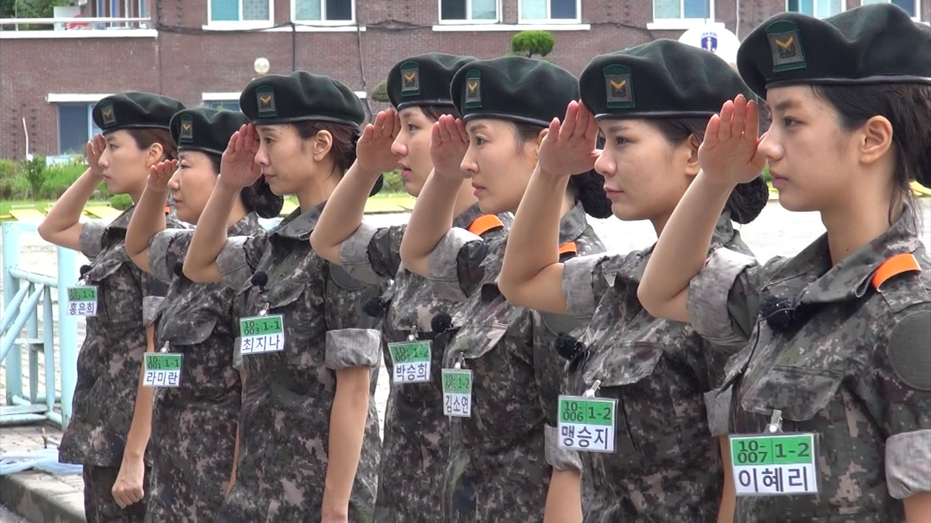 Korean army votes on which female idol could survive guerrilla training