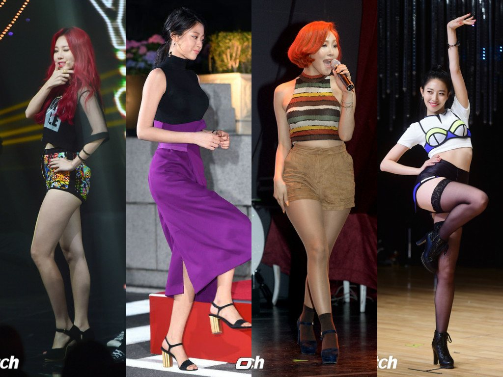 These 4 Female Idols Are Being Called National Treasures For Being So Sexy