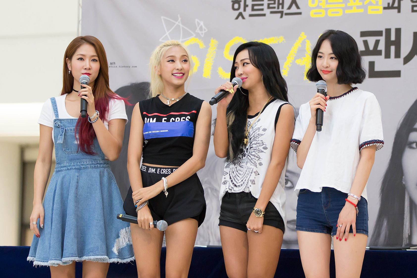 Handwritten letters from SISTAR explain why they chose to disband